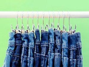 как отстирать кровь с джинсов