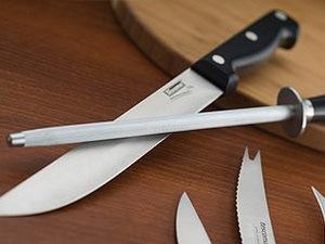 как ноточить нож